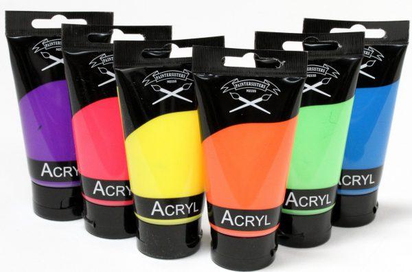 Acrylverf neon