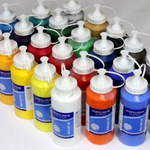 Acrylverf set 24 x 500ml