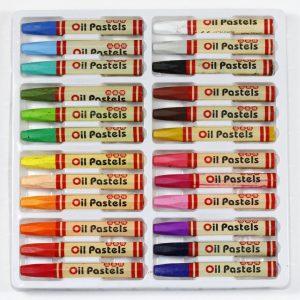 Oliepastel krijt 24