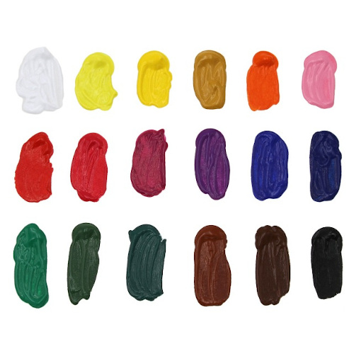 Acrylverf set 24 x22ml basis kleuren