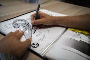 Schildersezel-Enzo tekenen hobby