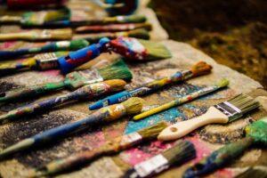 Schildersezel schilderen
